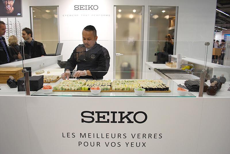 En quatre jours de Salon, près de 9000 pièces (sushis et makis) ont été offertes à manger aux visiteurs.