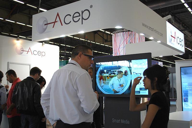 Le parcours 2.0 en collaboration avec ACEP, Fitting Box, Cosium, Optimum et Visions Technologies...
