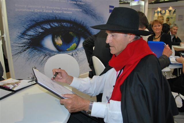 Caricatures à l'honneur chez Carl Zeiss Vision