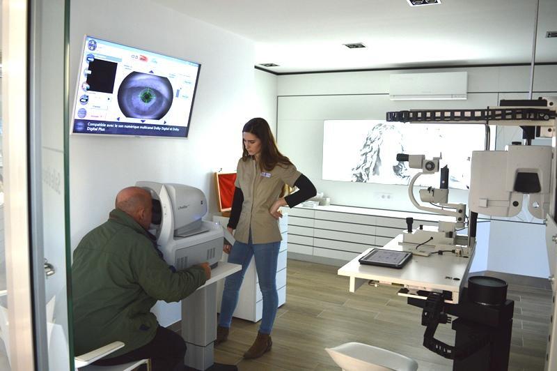 Un espace complet dédié aux examens de vue