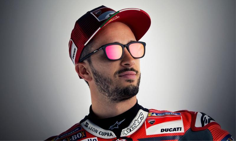 Mondottica a présenté la nouvelle collection Ducati Eyewear en présence de son égérie, le pilote Andrea Dovizioso.