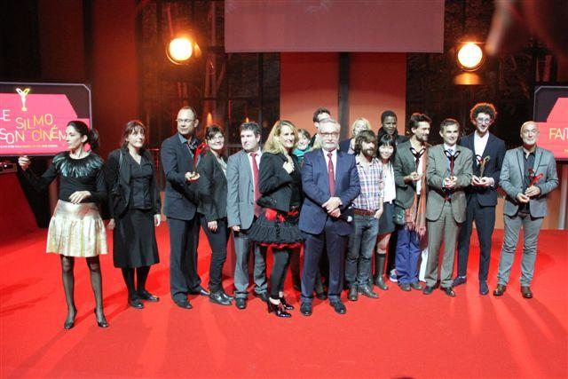Ensemble des gagnants Silmo d'or 2012