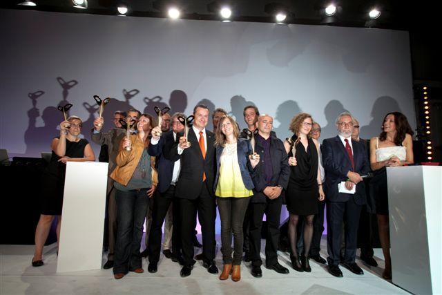 Ensemble des gagnants Silmo d'or 2011