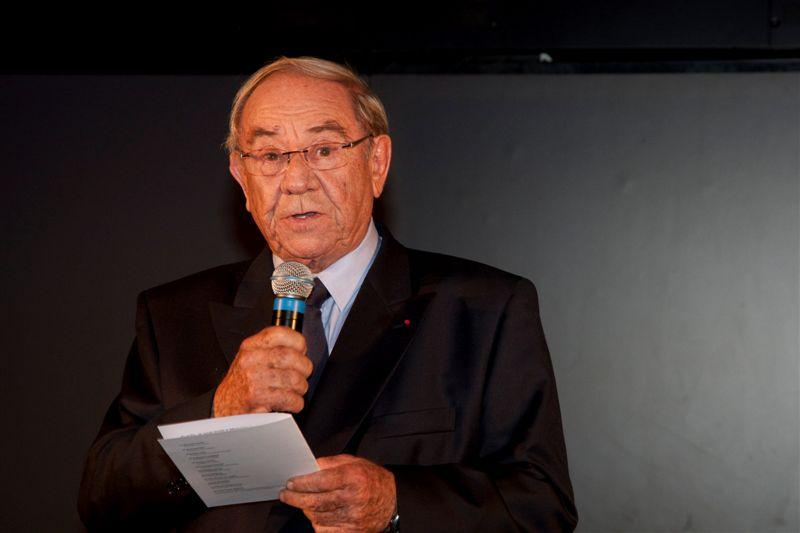 Guy Charlot prononce son discours inaugural
