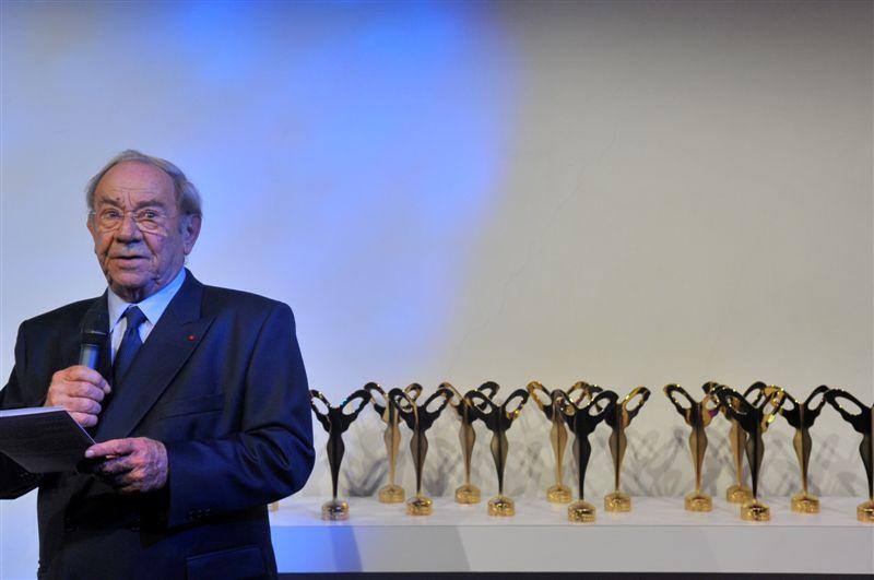 Guy Charlot, President du Silmo, ouvre la 15e ceremonie des Silmo d'Or