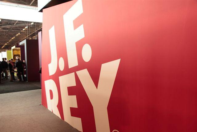 Le stand J.F. Rey