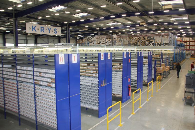 L'usine de Bazainville s'étend désormais sur 12 500 m² pour 10 millions d'articles vendus et expédiés chaque année. ©Acuité 2016