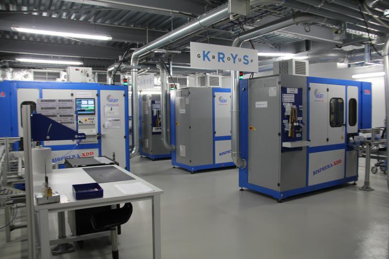 6 millions d'euros ont été nécessaires pour l'acquisition de 20 nouvelles machines afin d'augmenter la production de 20%, passant de 1,25 million à 1,5 million de verres produits chaque année. ©Acuité 2016
