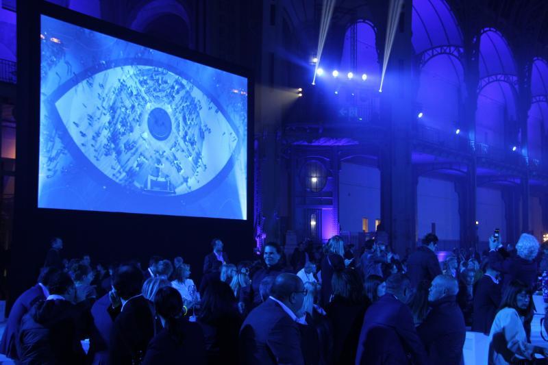 C'est lors d'une soirée exceptionnelle au Grand Palais de Paris que le Mondial de l'Optique a fêté ses 50 ans et a remis les Silmo d'Or 2017. ©Acuité 2017