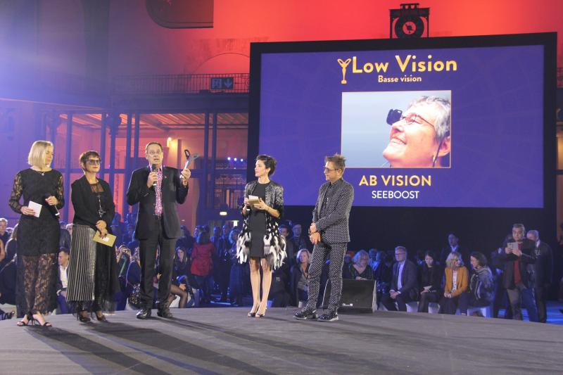 Catégorie « Basse Vision» : AB VISION avec « SEEBOOST ». ©Acuité 2017
