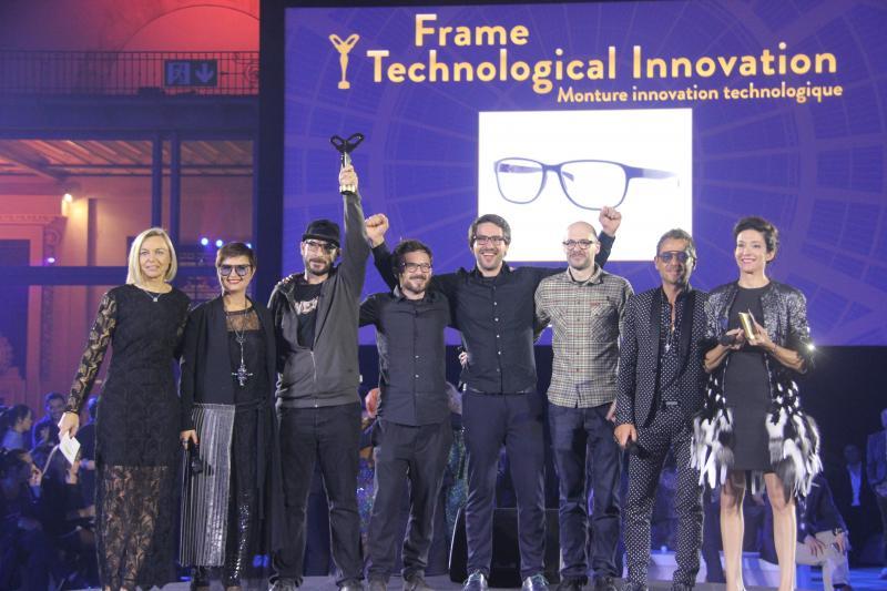 Catégorie « Monture innovation technologique » : ROLF avec « DEVILLE».©Acuité 2017