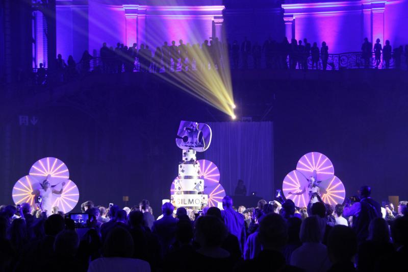 Les festivités ont continué pour fêter les 50 ans du Silmo. ©Acuité 2017