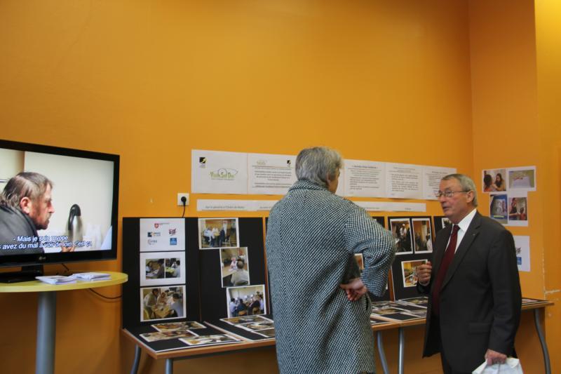 Jean-Paul Roosen, petit-fils du fondateur et ancien directeur de l'ICO de 1977 à 2010, était présent pour parler de son association Vision Solidarité Développement (Vision Solidev). ©Acuité 2017