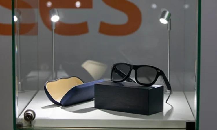 Lunettes avec verres imprimés en 3D