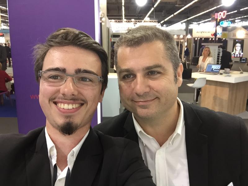 Démonstration des offres logicielles Ocuco avec Eric Huet
