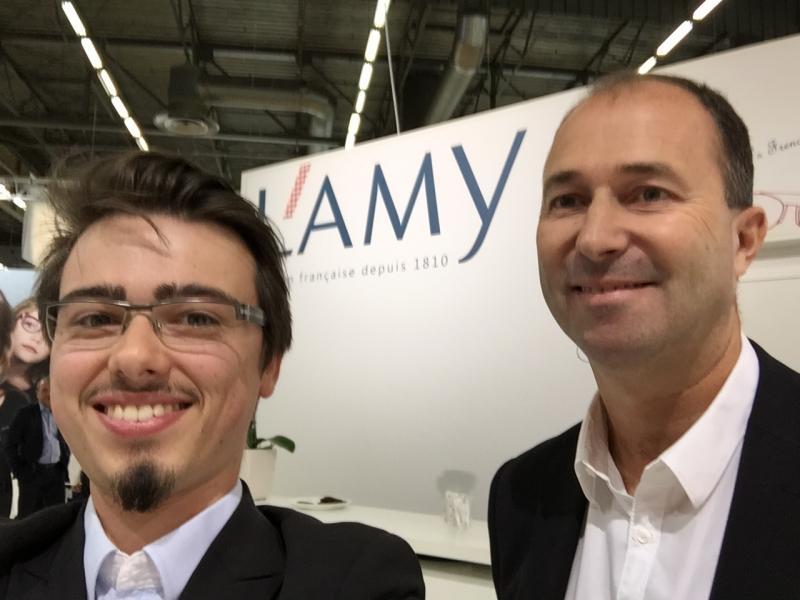 Découverte du stand L'Amy Group avec Fabrice Thiaudière