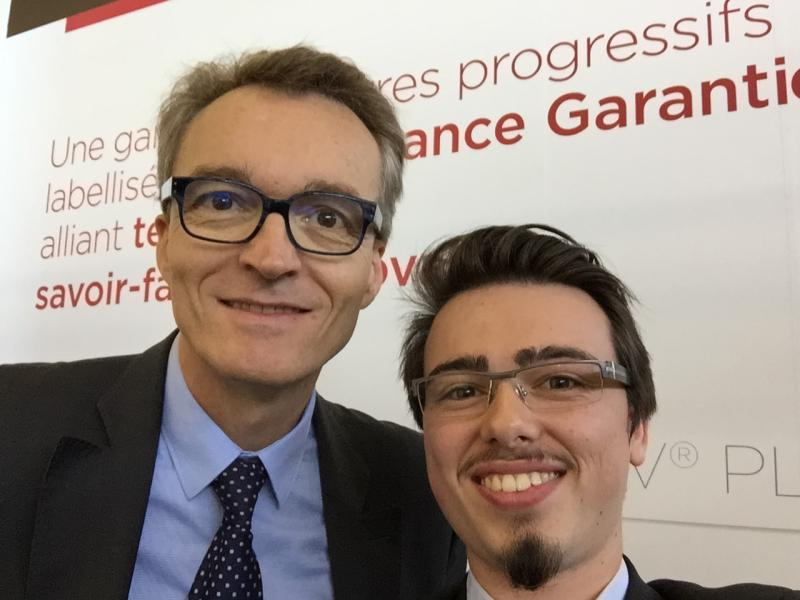 Vincent et Christophe Chebac, PDG de BBGR