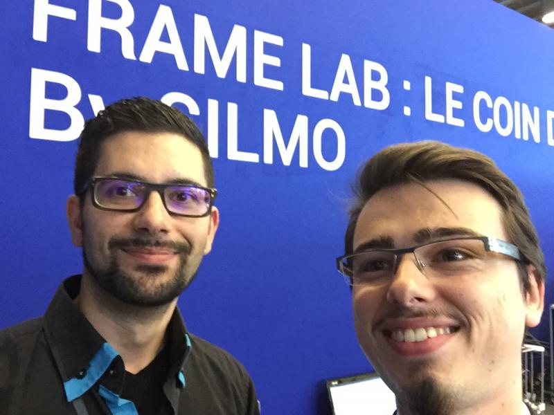 Découverte du Frame Lab, un stand intéressant et accueillant