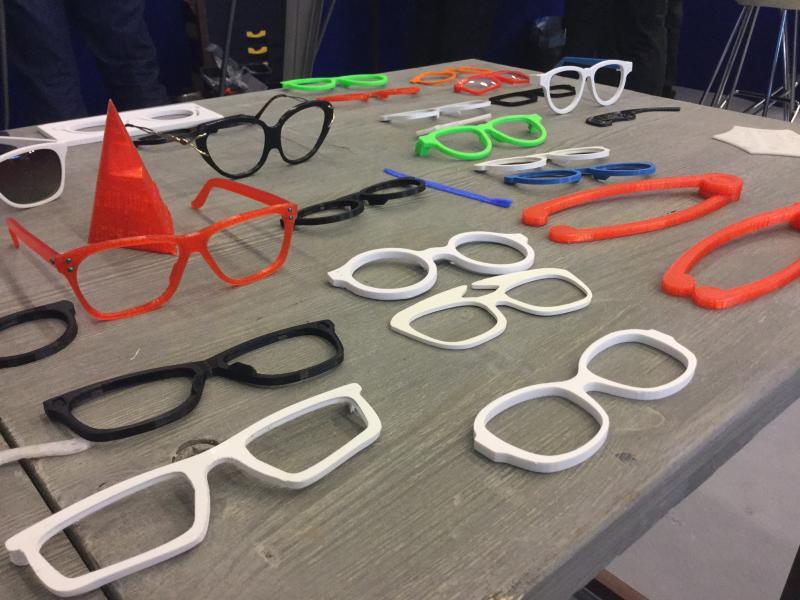 Montures imprimées en 3D