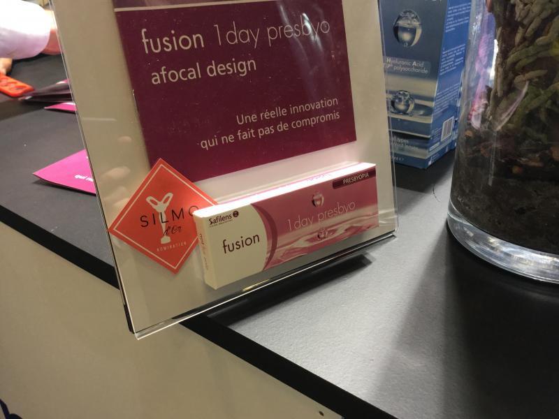 Safilens avec la nouvelle lentille pour les presbytes : Fusion 1 day Presbyo