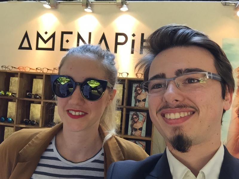 Montures Amenapih avec Jenny Collinet