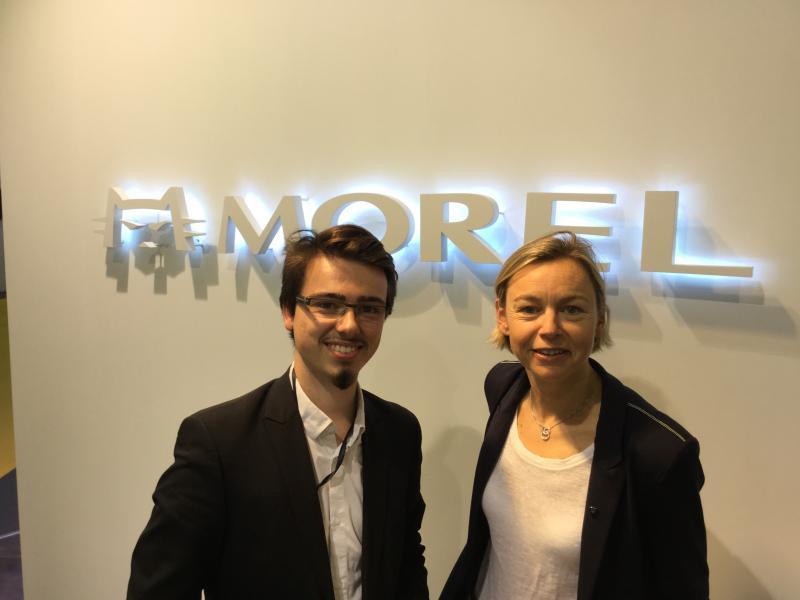 Vincent et Amélie Morel