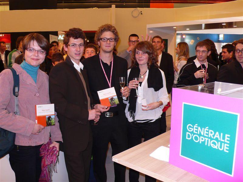 Les gagnants du jour du concours Generale d'Optique