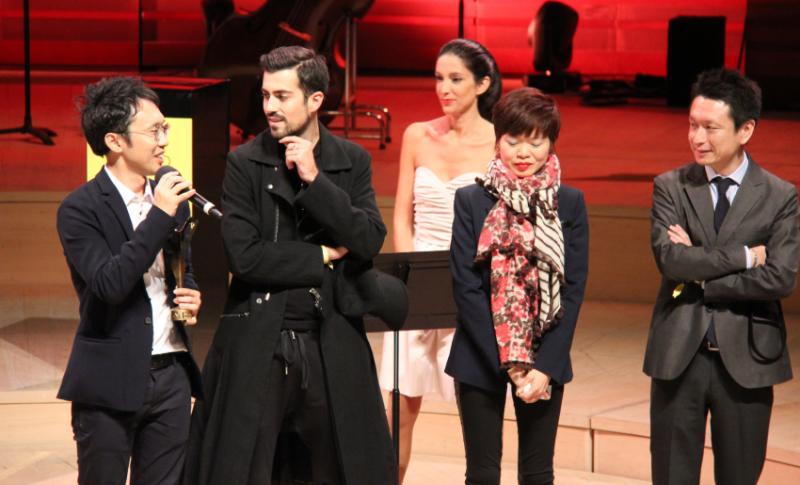 Masunaga est lauréat dans la catégorie