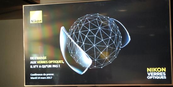 Conférence du lancement de Nikon Vision Tour
