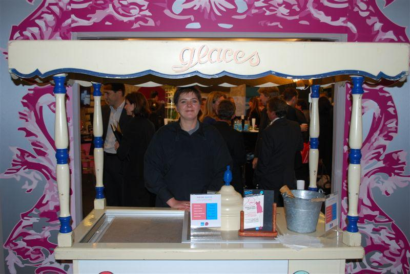 Stand Kiavue - Degustation gratuite de glace