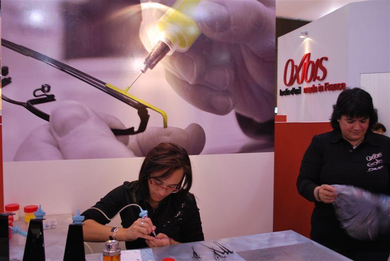 La fabrication des montures en direct chez Oxibis