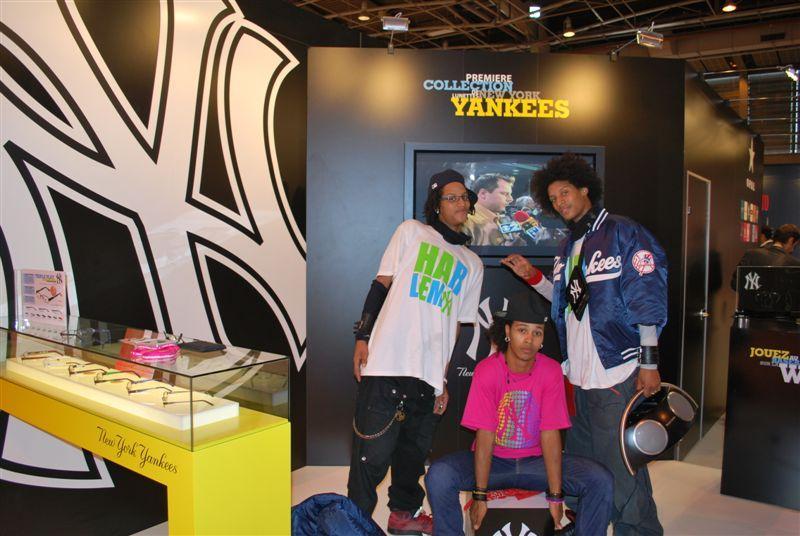 Animation rap pour la marque NY Yankees