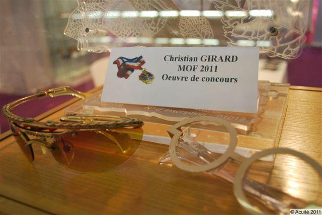 Réalisation de Christian Girard pour les MOF Lunetiers 2011
