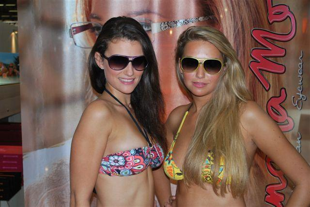 Stand Visioptis, soleil et bronzage pour Banana Moon