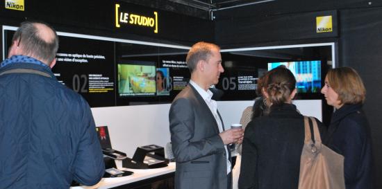 Le studio Nikon et ses outils de démonstration