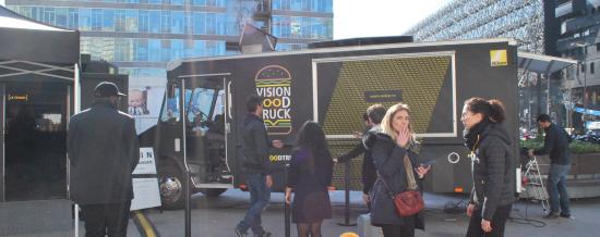 Vision Food Truck : Nikon propose aux Français de