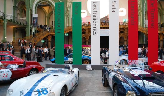 Les marques italiennes disparues telles que Autobianchi, De Tomaso, Osca… sont mises à l'honneur sur le Tour Auto Optic 2000
