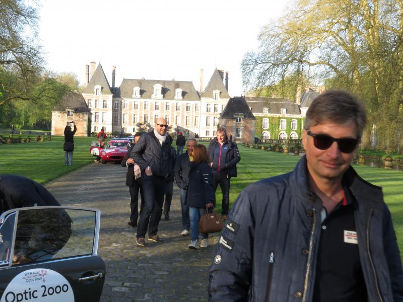 Didier Papaz, PDG d'Optic 2000 était au rendez-vous lui aussi sur la ligne de départ