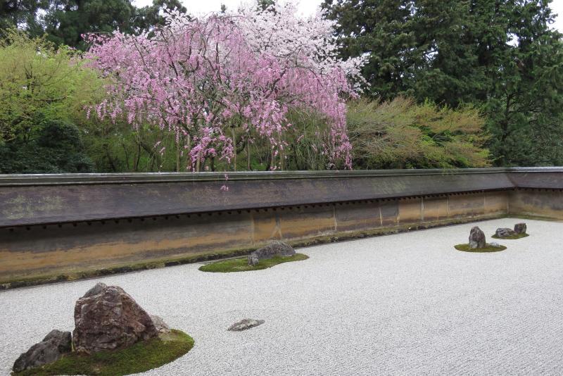 Le monastère zen Ryôan-ji.du et son fameux jardin zen