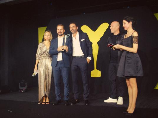 Marchon est lauréat dans la catégorie « Monture optique tendance mode » avec Marni