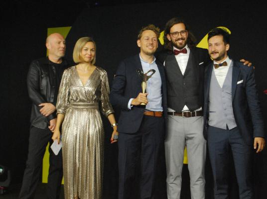 Freisicht est lauréat dans la catégorie « monture innovation technologique » avec « Avantgarde »