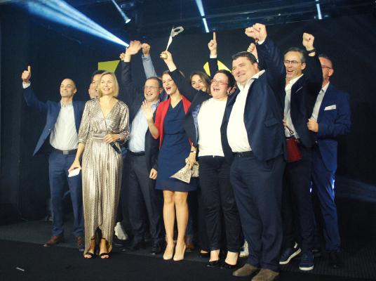 BBGR est lauréat dans la catégorie « Matériel / équipement » avec  Lumiz 100 »