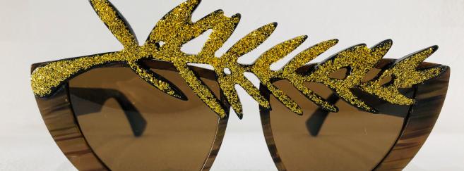 Le « fou des lunettes » Damien Miglietta crée un modèle unique pour le Festival de Cannes