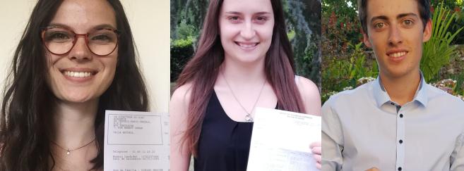 3 diplômés obtiennent les meilleures moyennes au BTS OL 2019. Acuité dresse leur portrait !