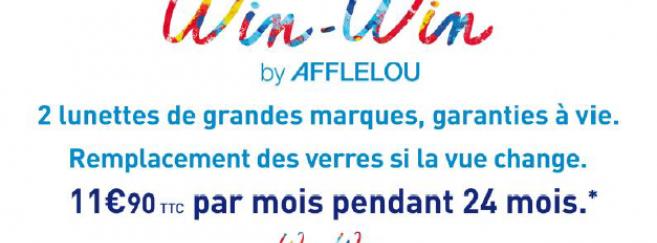 Win-Win : la nouvelle offre « révolutionnaire » d'Alain Afflelou