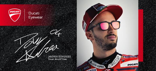 Retrouvez Ducati sur le stand Mondottica au Silmo : Hall 6 - B067