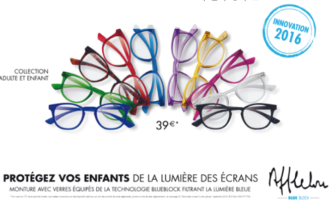Alain Afflelou protège la vue des enfants avec sa nouvelle collection  BlueBlock 7adcd1596e0e