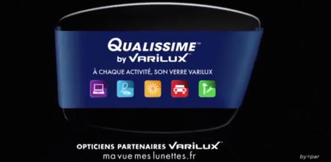 3654c3b595 Qualissime by Varilux : les spots TV et radio en avant-première ! | Acuité