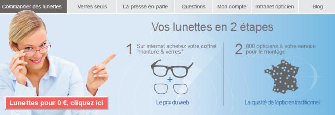 Le site de vente en ligne Easy-verres propose