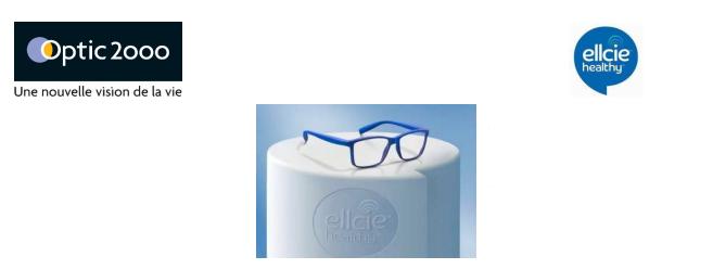 9a1182b347d Optic 2000 investit le marché des lunettes connectées avec Ellcie-Healthy